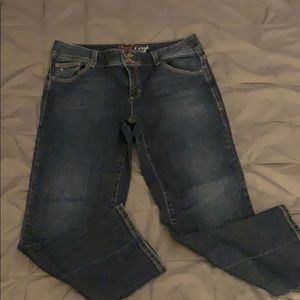 Tommy Hilfiger cute cropped jeans.